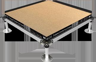 Holz Doppelbodenplatte