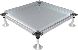 Glass Doppelbodenplatte